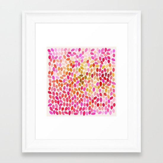 rain 10 Framed Art Print