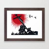 Patibulum Framed Art Print