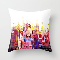 SMALL WORLD 011 Throw Pillow