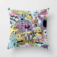 The Adventures Of Rad St… Throw Pillow