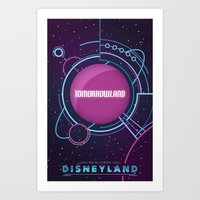 Tomorrowland Art Print