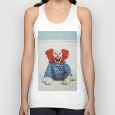 Can't Bathe Clown Will Eat Me Unisex Tank Top