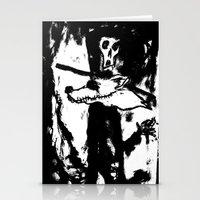 Dandy Fox Demonix (In Bl… Stationery Cards