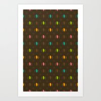 Fudge Color Art Print