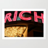My Life Is Rich Art Print