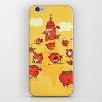 We were tomatoes! iPhone & iPod Skin
