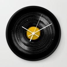 Sound System Wall Clock