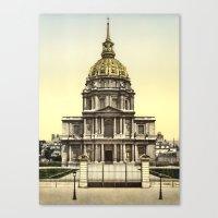 Les Invalides, Paris, Fr… Canvas Print