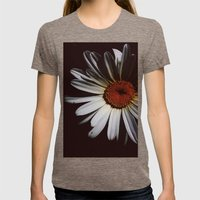 Through the Dark Womens Fitted Tee Tri-Coffee SMALL