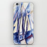 iPhone & iPod Skin featuring Sail Movements by Taiche