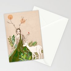 Mori girl Stationery Cards