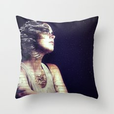 Time waits for no one. Throw Pillow