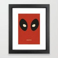 Deadpool Framed Art Print