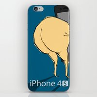 iPhone 4 S : For Ass iPhone & iPod Skin
