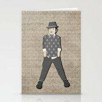 Boys Formal Wear Gray Ar… Stationery Cards