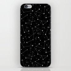 Constellations (Black) iPhone & iPod Skin