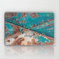 Teal and Rust Laptop & iPad Skin