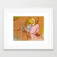 Oobedoo Framed Art Print