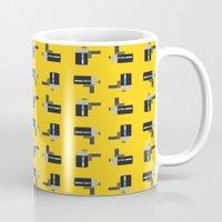 Camera 04 Pattern Mug
