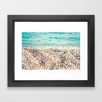 al sol Framed Art Print