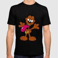 Odie B Mens Fitted Tee SMALL Black
