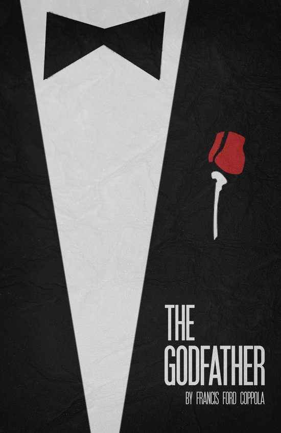 The Godfather - Minimalist Poster 01 Art Print