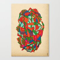 - Faces S - Canvas Print
