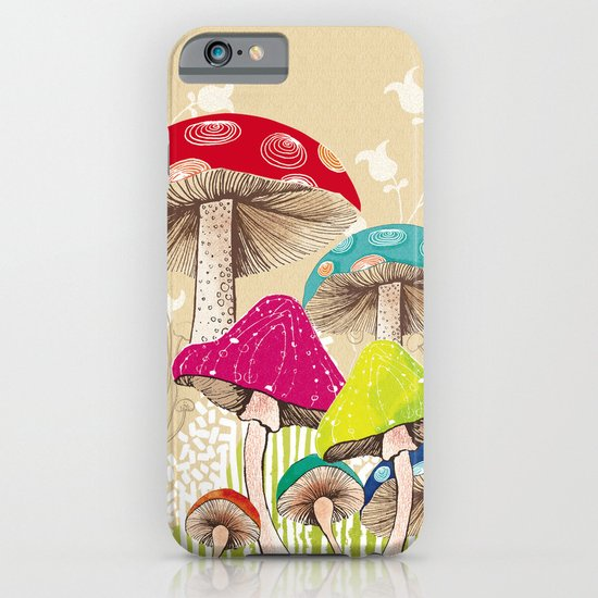 Magical Mushrooms iPhone & iPod Case