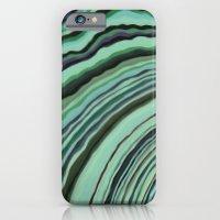 Mineralicious~Mint Tourm… iPhone 6 Slim Case