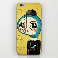 Portrait Of Doraemon's C… iPhone & iPod Skin
