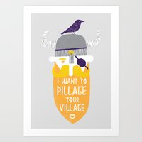 Pillage Art Print