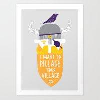 Pillage Art Print