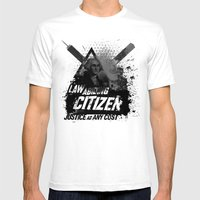 Citizen Mens Fitted Tee White SMALL
