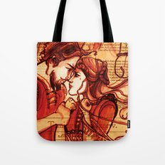 Taming of the Shrew  - Shakespeare Folio Illustration Art Tote Bag