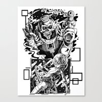 it came from the stars. Canvas Print