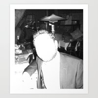 Mask of Lumière Art Print