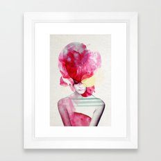 Bright Pink - Part 2  Framed Art Print