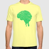 My gift to you III Mens Fitted Tee Lemon SMALL