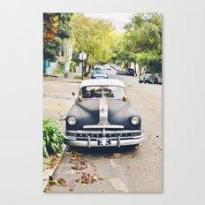 Vintage Cars of San Fran 1 Canvas Print