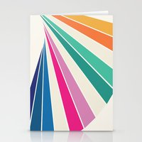 Fan of Color Stationery Cards