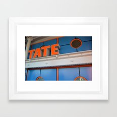 liverpool tate Framed Art Print