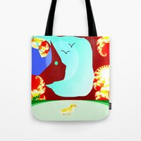 Somewhere Out There Tote Bag