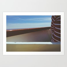 A Boat's Edge Art Print