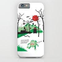 iPhone & iPod Case featuring Arnie was just too round... by Joe Pugilist Design