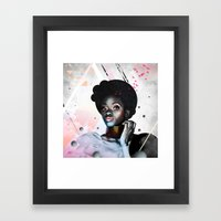 Judy Framed Art Print