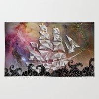 Celestial Ship Rug