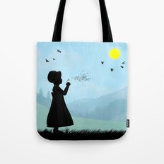 Childhood dreams, One O'Clock Tote Bag
