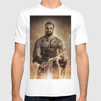 Khal Drogo Mens Fitted Tee White SMALL