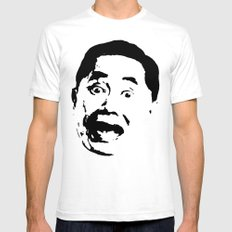 George Takei   Mens Fitted Tee White SMALL
