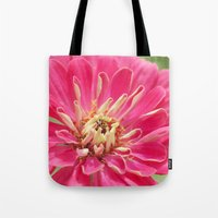 Zinnia & the Ladybug Tote Bag